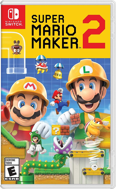 Super Mario Maker 2 es uno de los mejores juegos para niños.