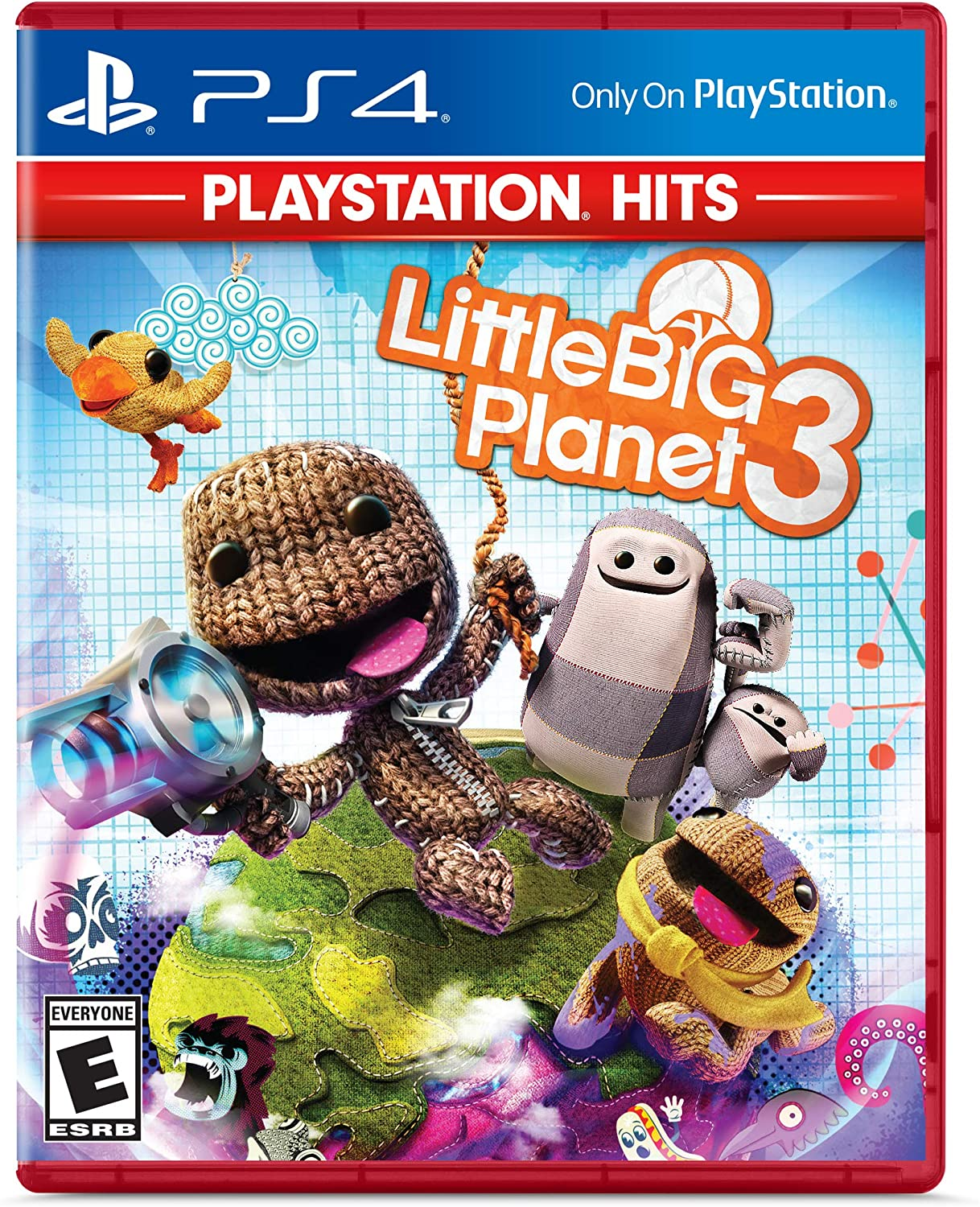 Little Big Planet 3 para Playstation 4.