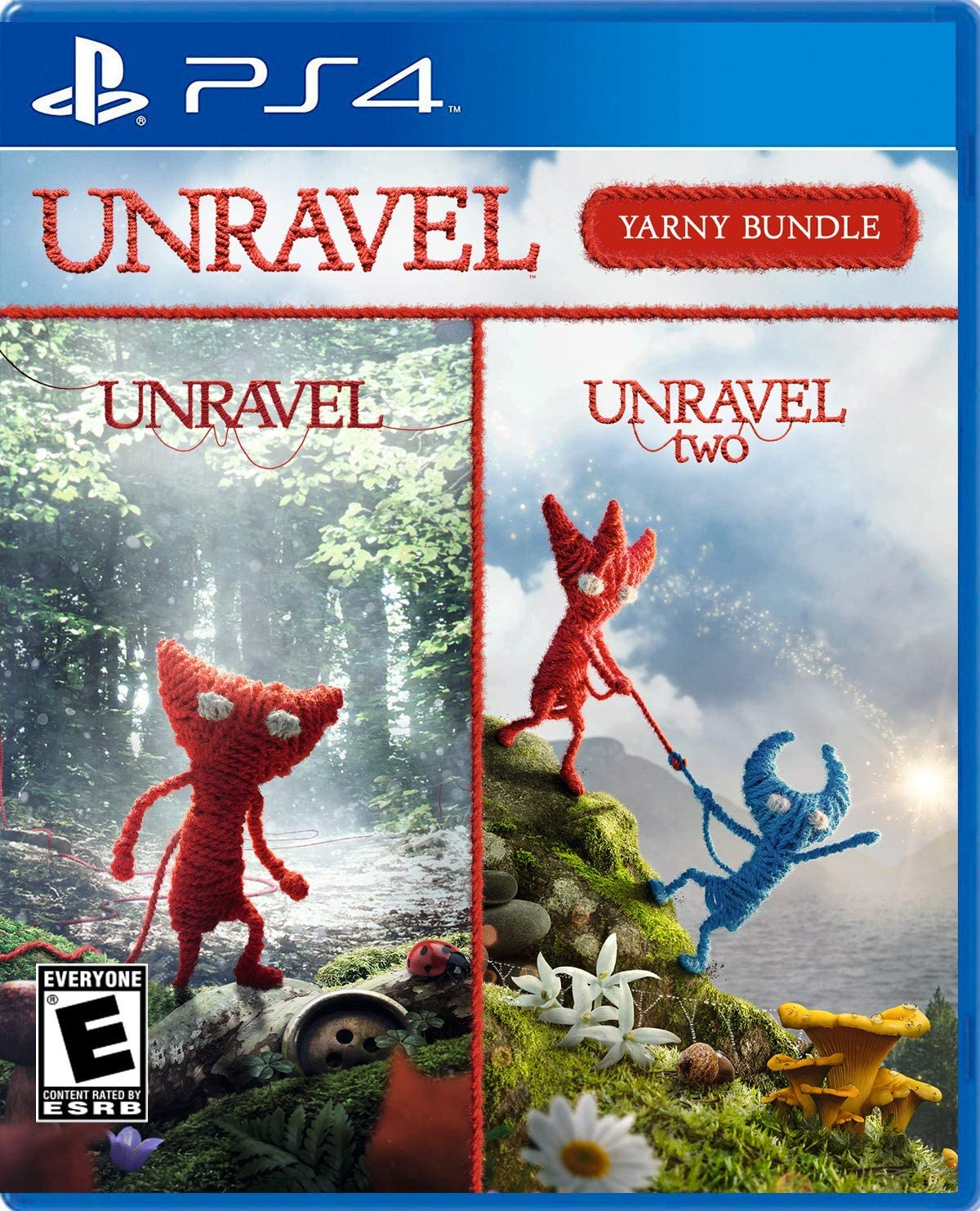 Unravel 2 para Playstation 4.