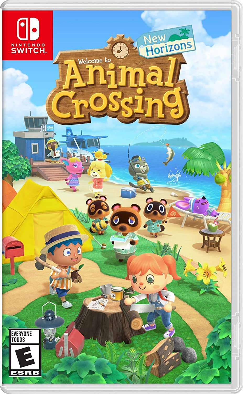 Animal Crossing New Horizons para Nintendo Switch.