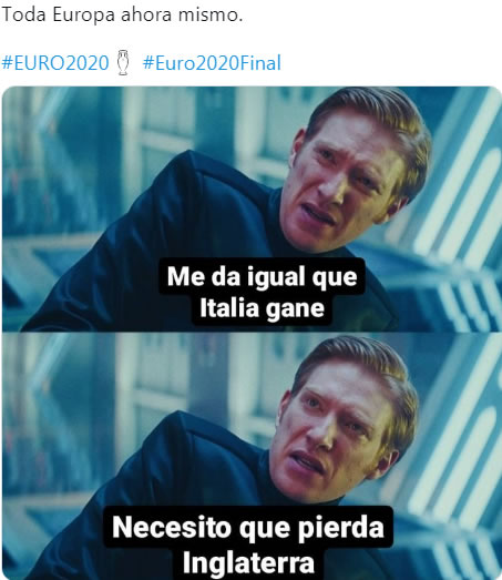 Memes Final Eurocopa 2020