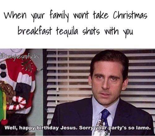 Memes de Navidad y la cruda