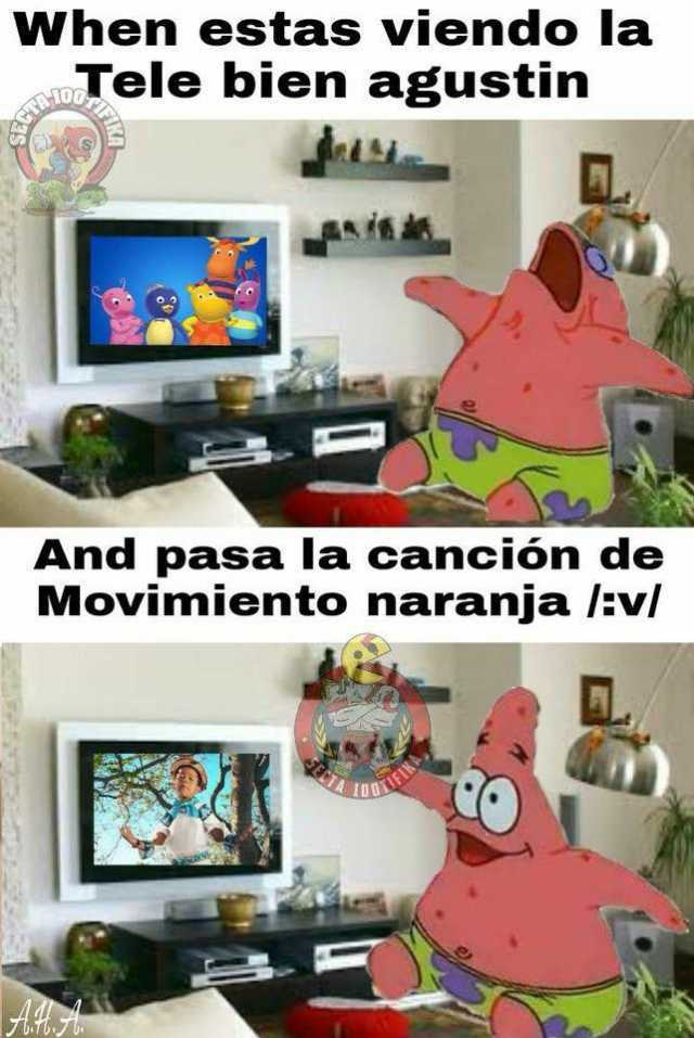 Meme Movimiento Naranja