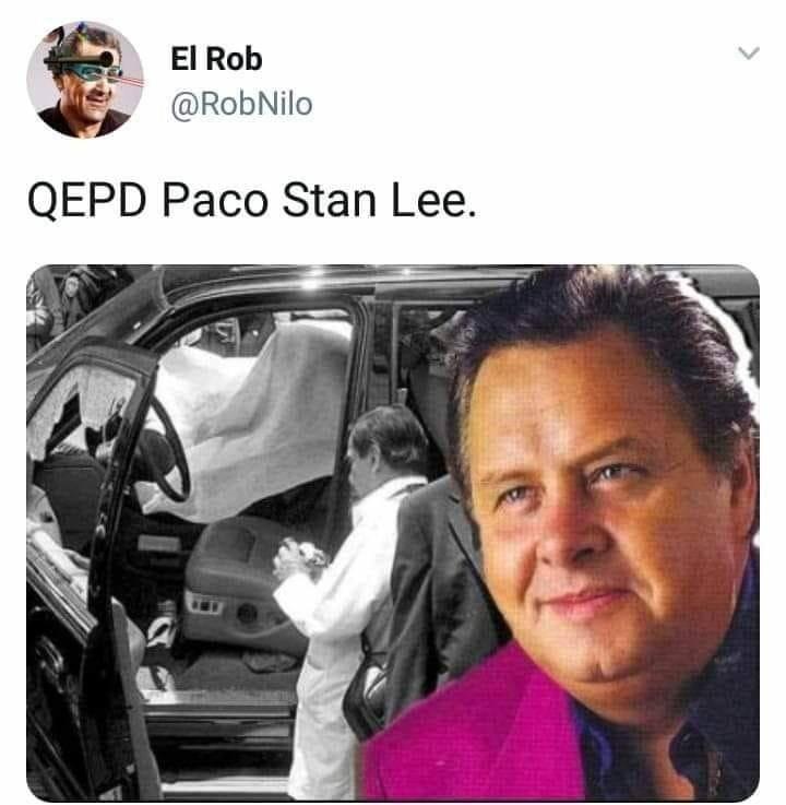 Memes sobre Stan Lee