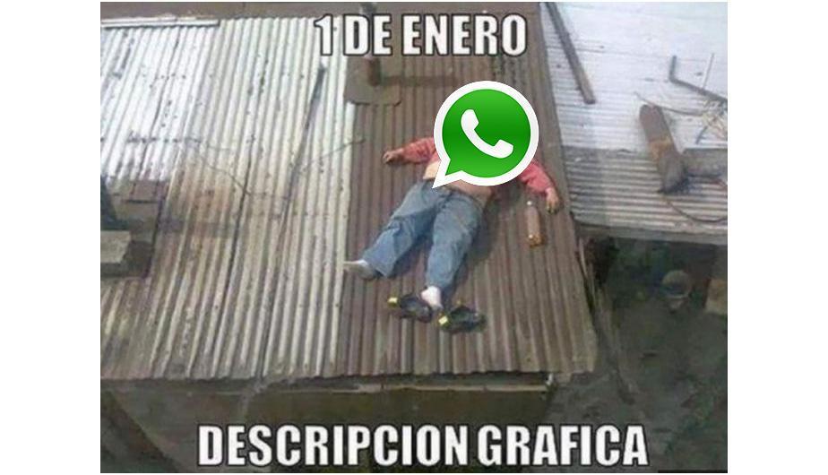 Meme WhatsApp se cae