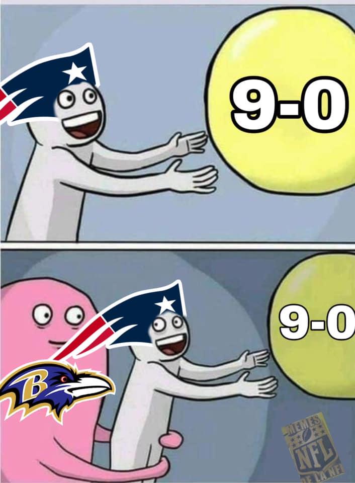 Memes de la NFL, Semana 9
