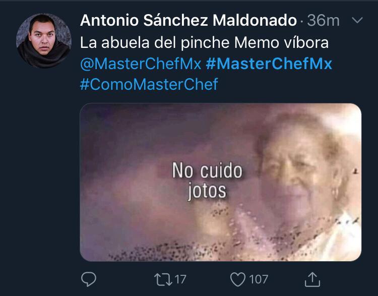 Memes de MasterChef, Capítulo 11