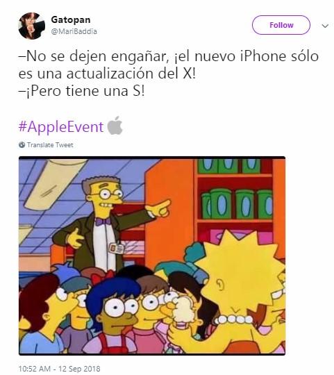 Memes nuevos iPhone XS y XR