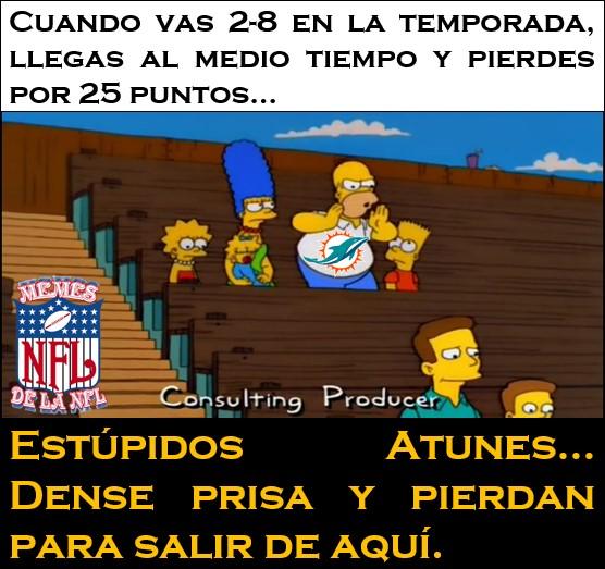 Memes de la jornada 12 de la NFL