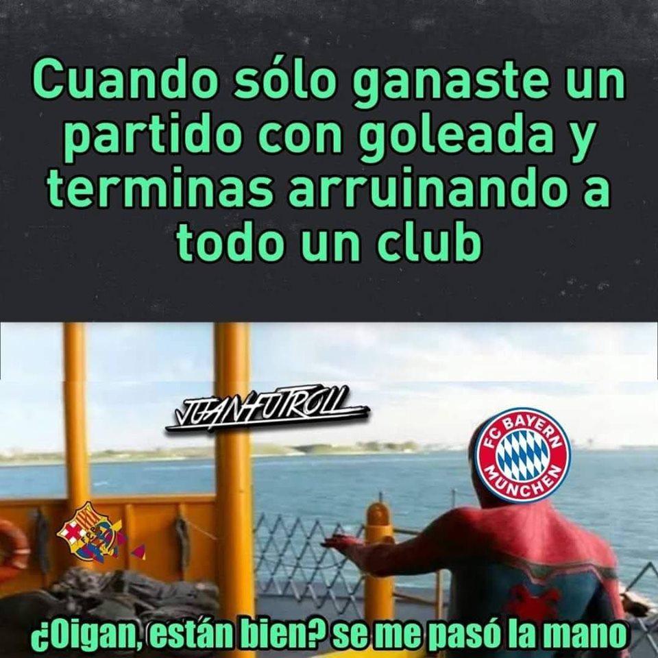 Memes de la salida de Lionel Messi del Barcelona