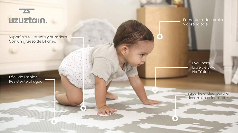 Tapete o alfombra suave para bebé en Amazon México