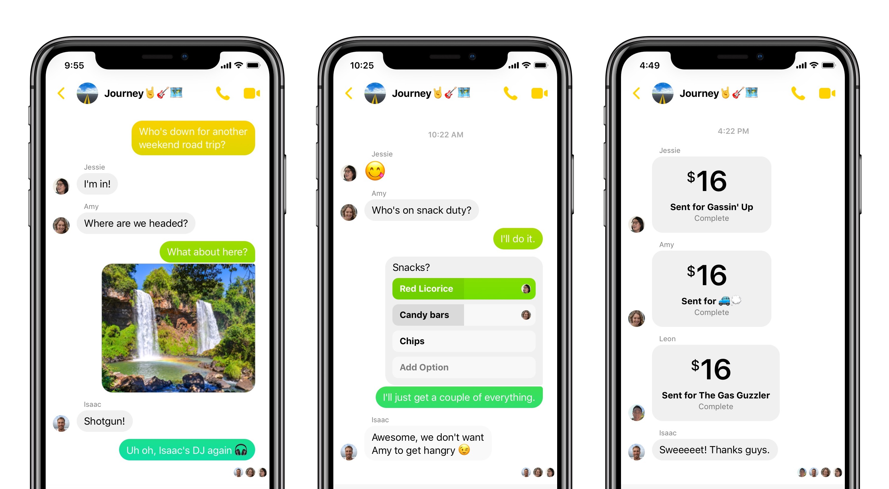 Messenger 4 en iOS
