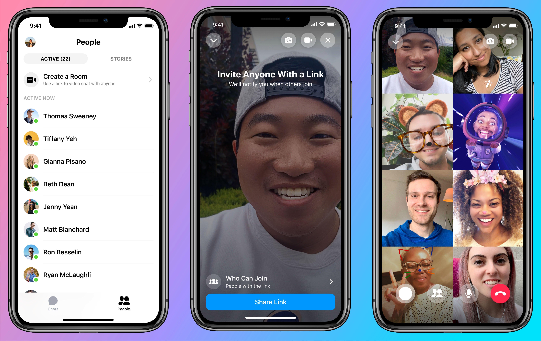 Messenger Rooms: cómo crear nuevas Salas de videollamadas de Facebook.