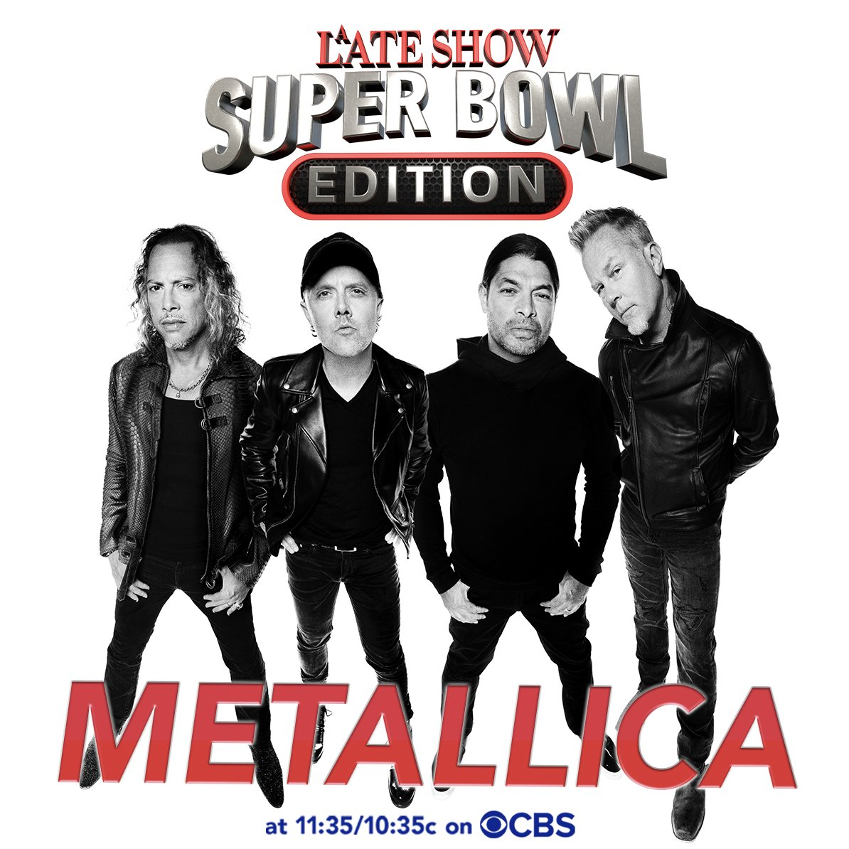 Metallica y Green Day serán parte del Super Bowl LV con un acto en vivo