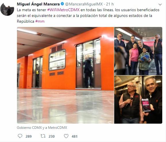 Directivos del Metro y AT&T asistieron a la inauguración