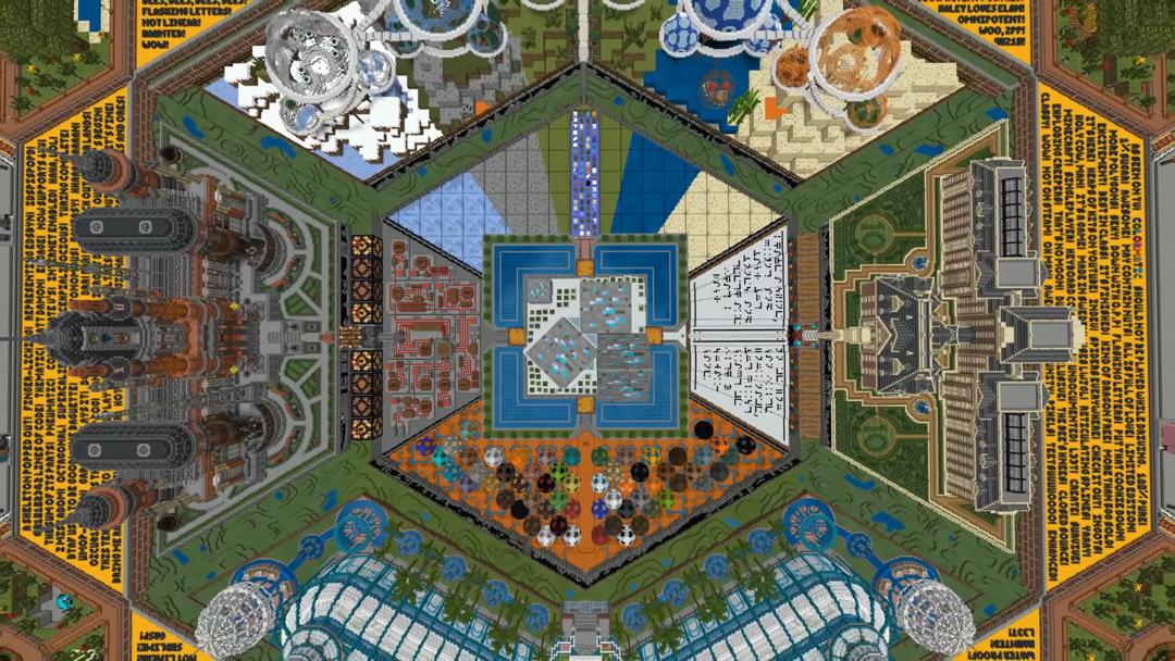 Mapa Minecraft 10 años