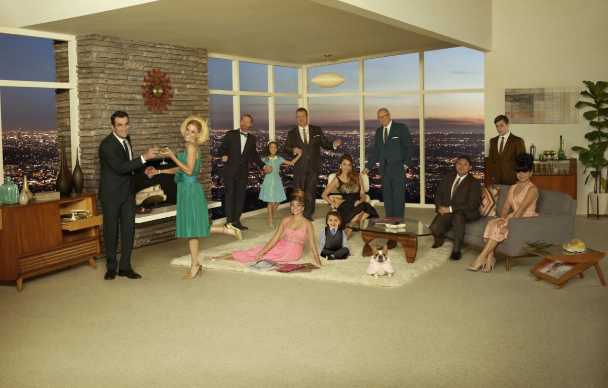 El elenco completo después de siete temporadas