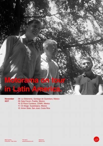 Flyer de la gira por México