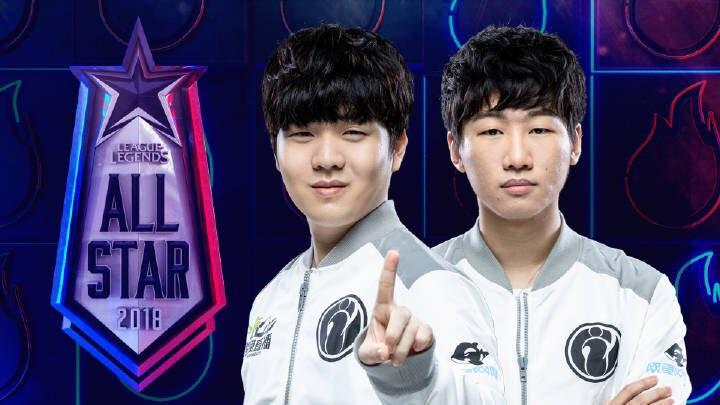 "Gao ""Ning"" Zhen-Ning y ""Rookie"", de Invictus Gaming"