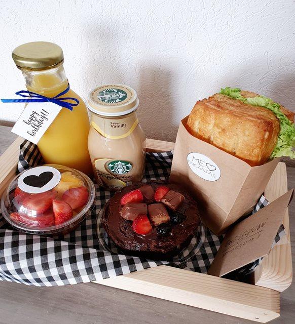 Desayunos a domicilio