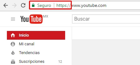 certificado de seguridad google chrome