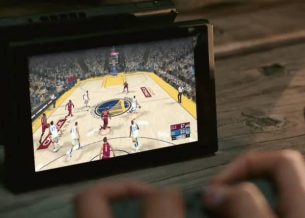 NBA Live en Nintendo Switch