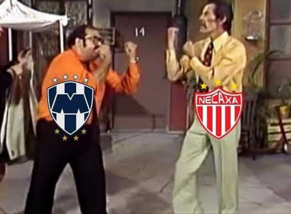 Memes de la Semifinal de ida Monterrey vs Necaxa