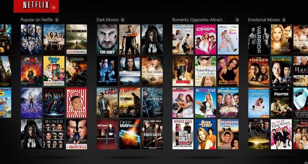 Catálogo de Netflix