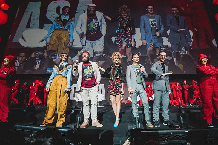 La Casa de Papel de Netflix en Comic Con Brasil 2019