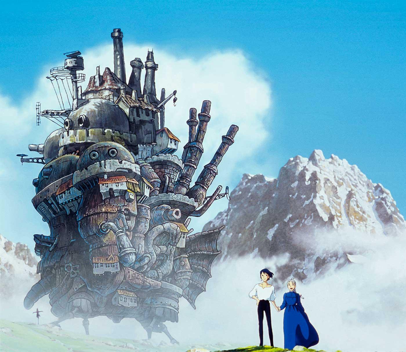 El castillo ambulante, 2004. Studio Ghiblin