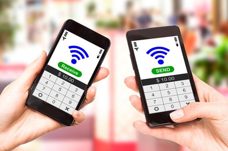 Comunicación NFC activa