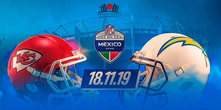NFL México 2019: Kansas City Chiefs vs Los Ángeles Chargers