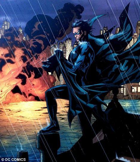 Nightwing en el final de Batman R.I.P.