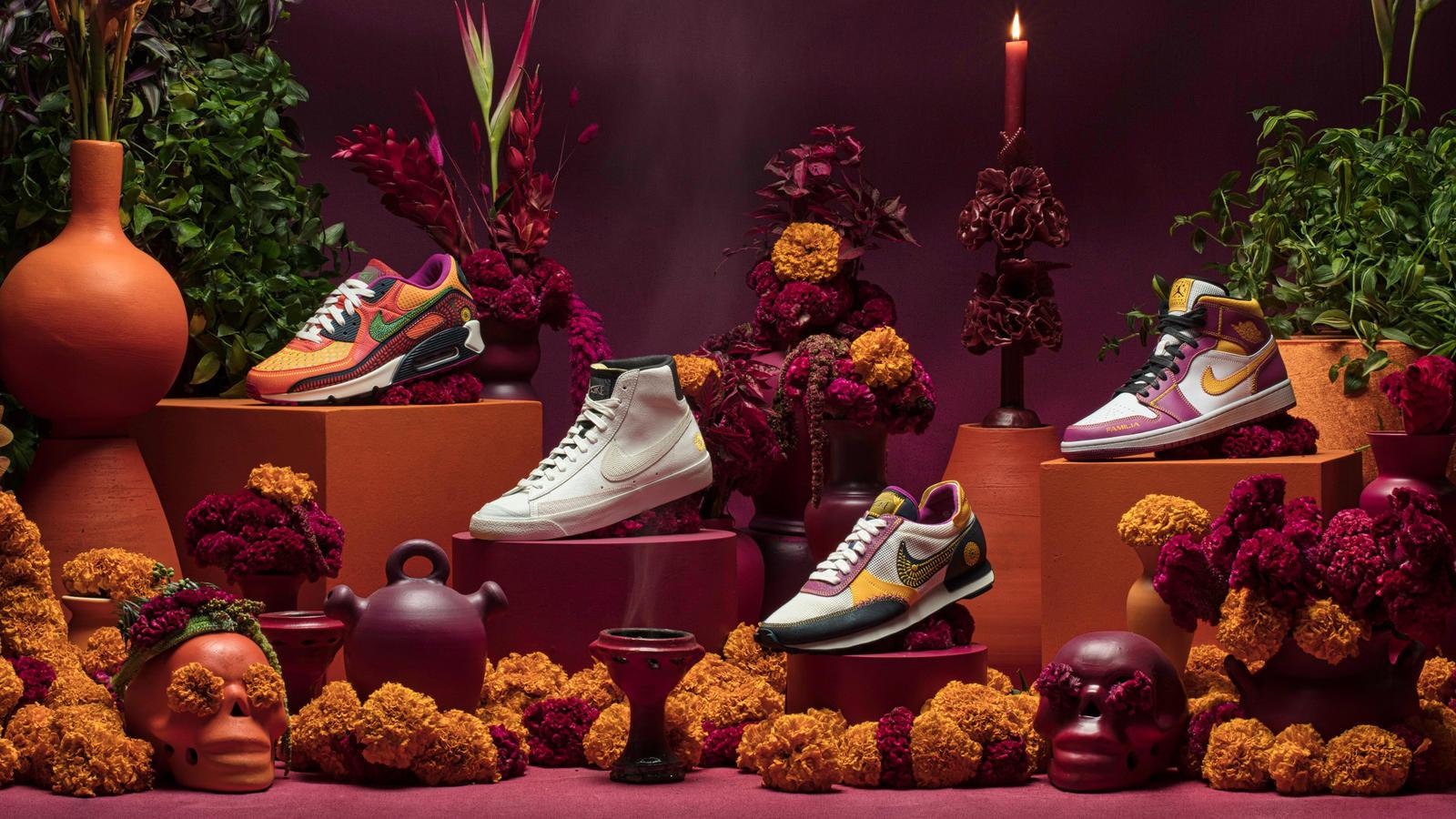 Colección de Día de Muertos Nike