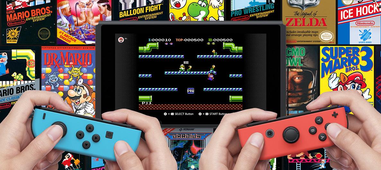 Clásicos de NES en Switch