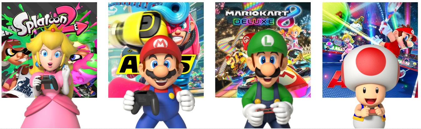 Nintendo Switch Online, juego en línea