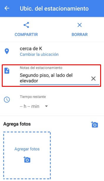 ¿Cómo usar Google Maps para saber dónde está mi auto?