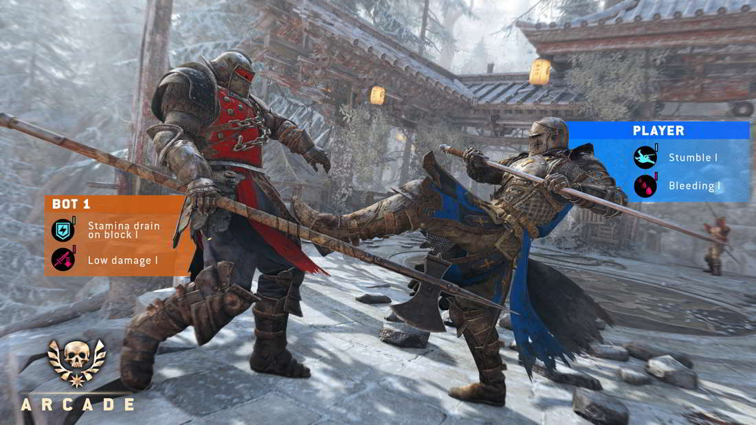Modo Arcade para For Honor Marching Fire en GAMESCOM 2018