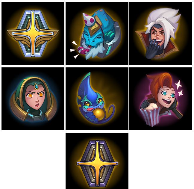 Nuevos emotes del evento odisea de League of Legends