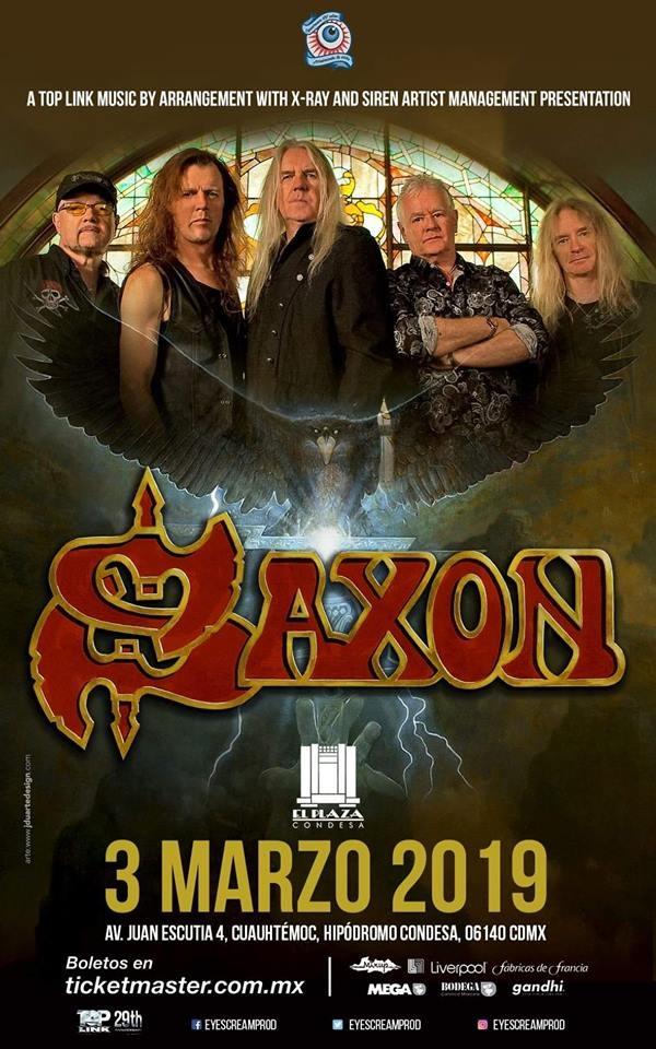 Saxon México 2019