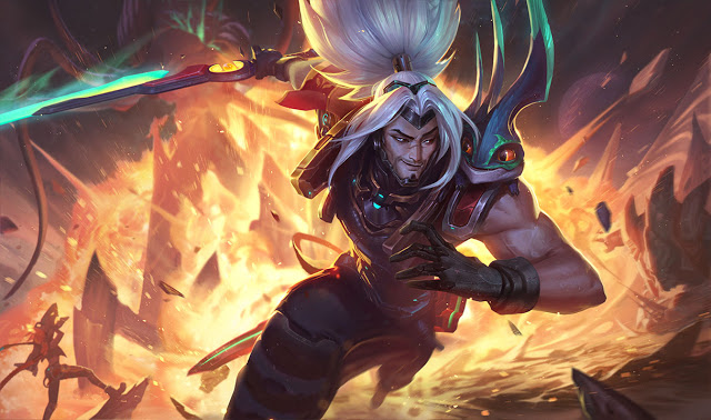 Odyssey Yasuo, nueva skin de League of Legends