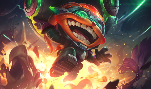 Odyssey Ziggs, nueva skin de League of Legends
