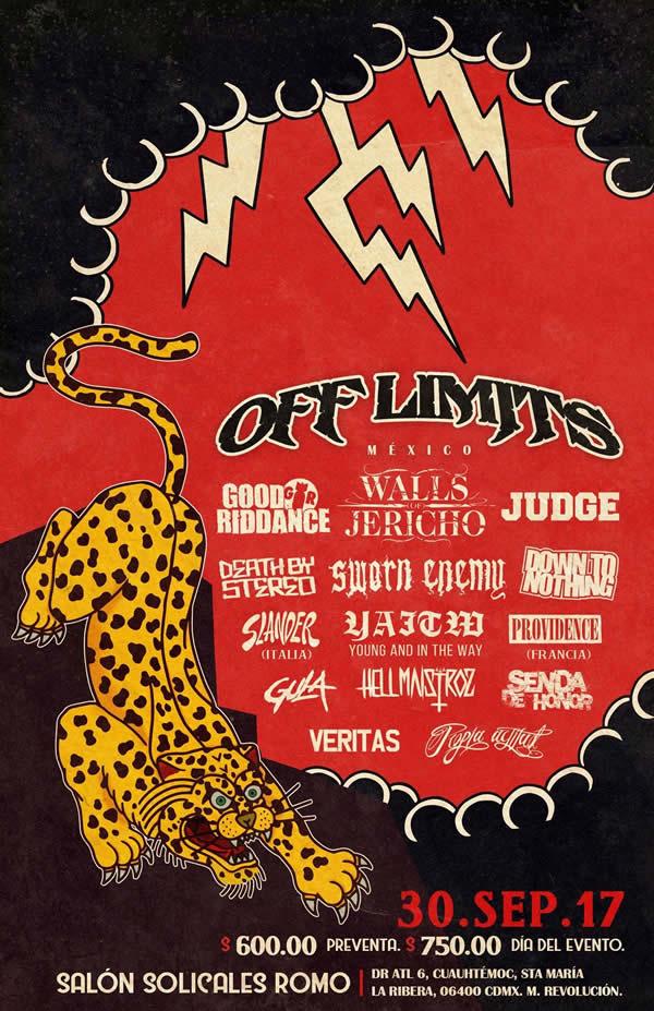 Cartel oficial del concierto