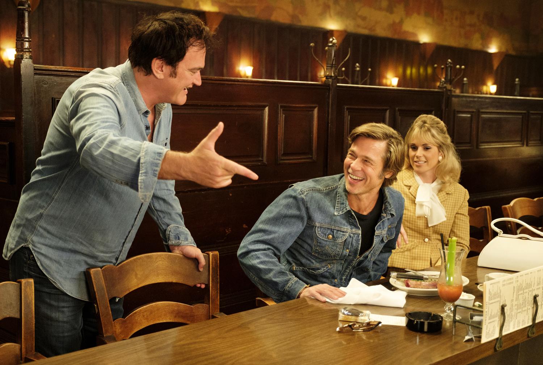 Quentin Tarantino en Érase una vez en... Hollywood