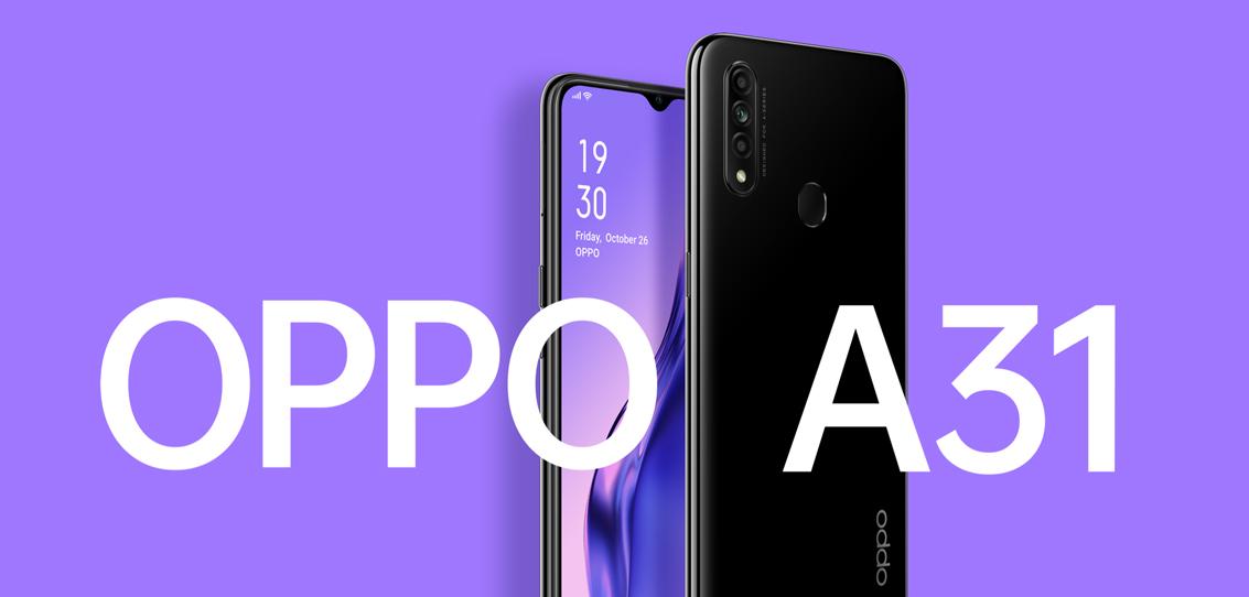 OPPO A31: características y precio