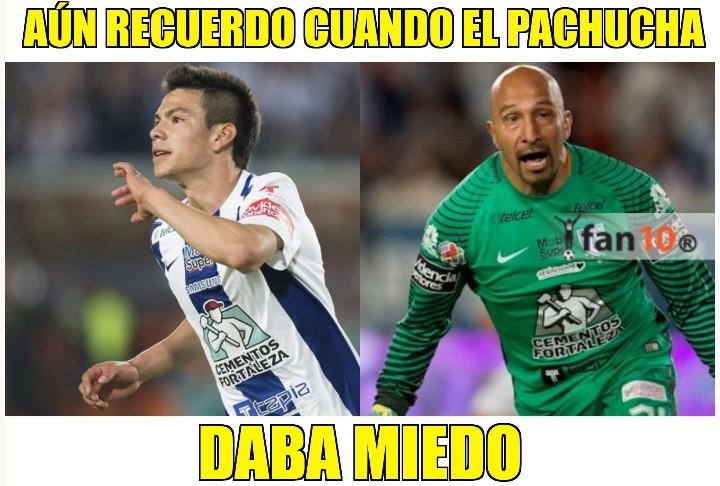 Pachuca vs Querétaro memes 2018