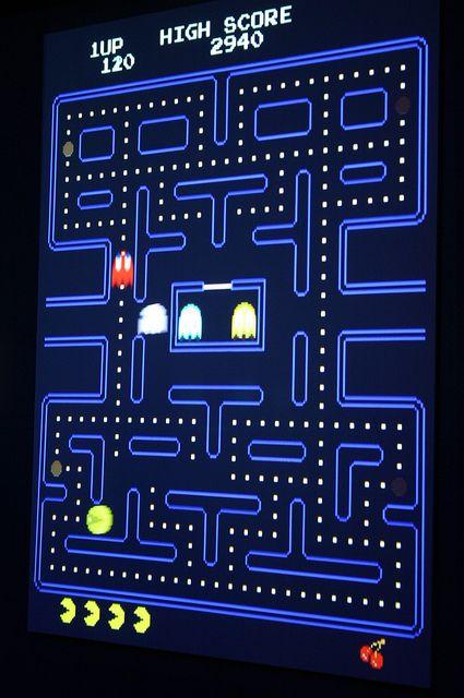 Interfaz de Pac-Man
