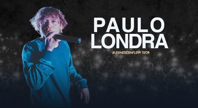 Paulo Londra en el Teatro Metropólitan el 25 de noviembre