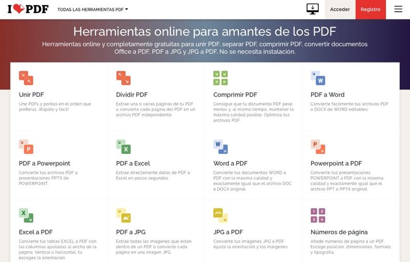 ilovepdf editor pdf