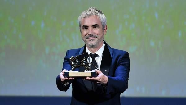 Alfonso Cuarón gana el León de Oro de La Mostra por Roma